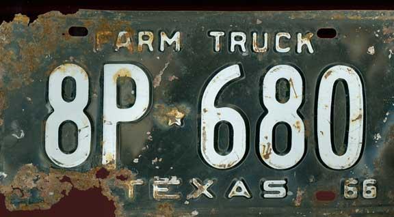 Texas plates (1)