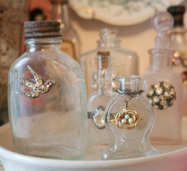 Cloudy bottles