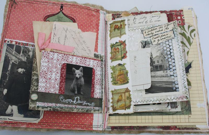 Christmas chaos journal page 2