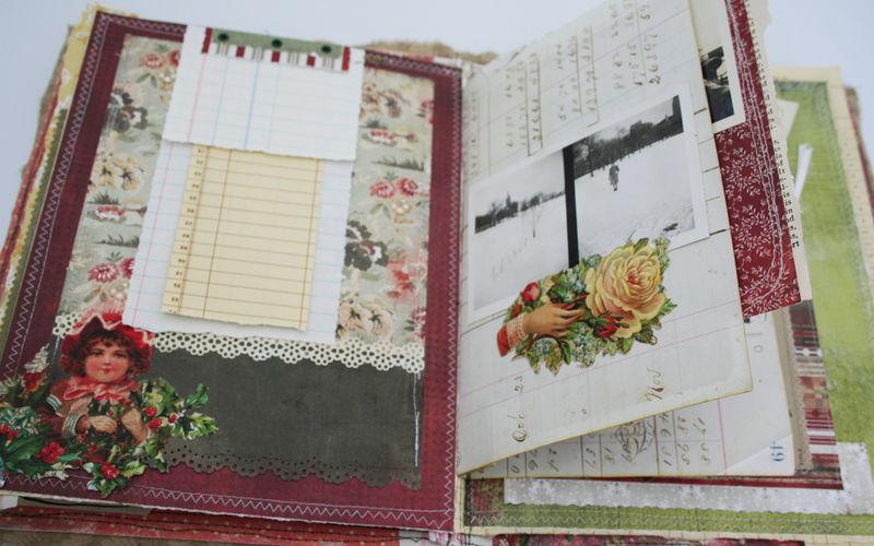 Sewn journal 001