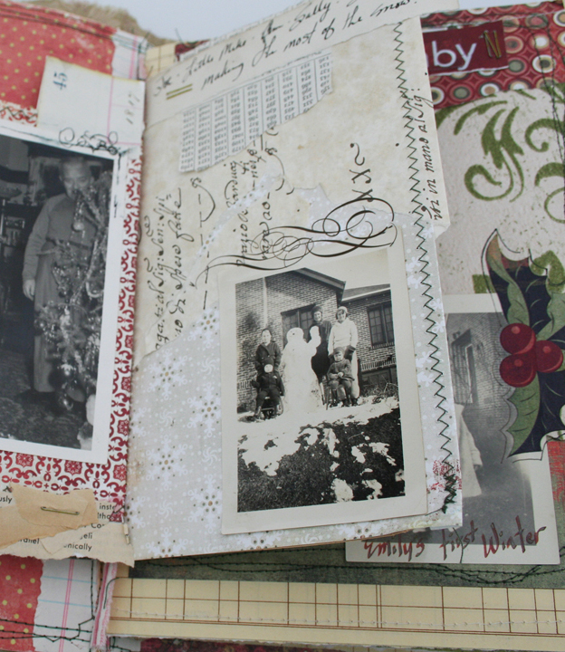 Christmas chaos journal page 4