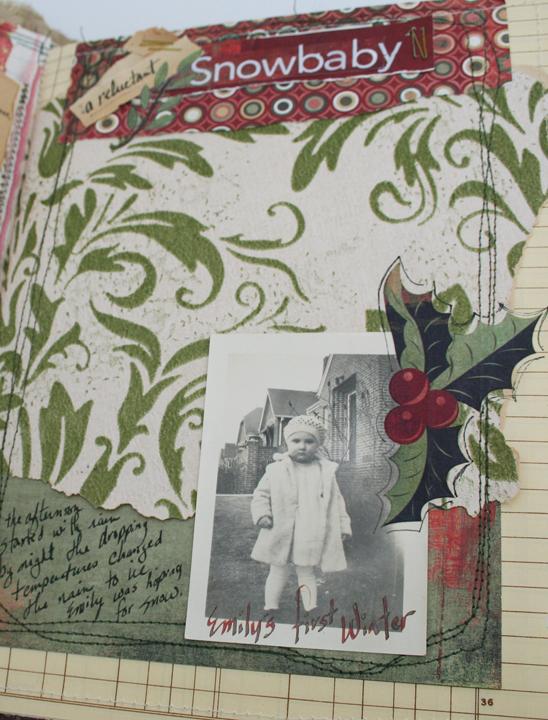 Christmas chaos journal page 6