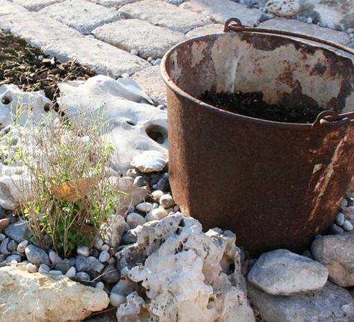 Old milk pail