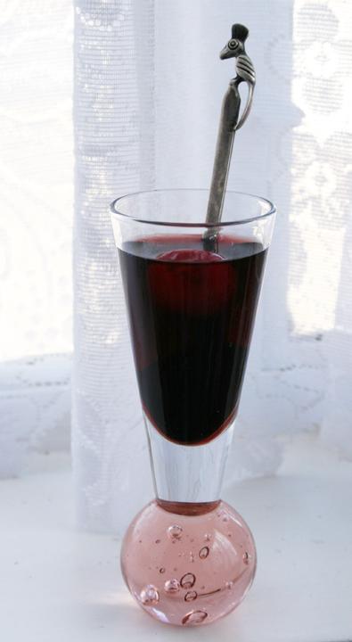 Sour cherry liqueur 2005