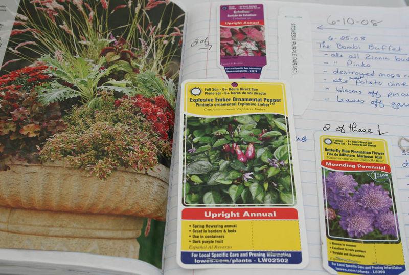 Garden journal (1)