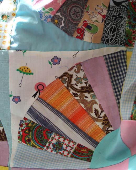 Really crazy crazy scrap quilt (3)
