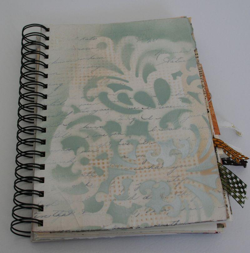 Aqua lace journal (1)