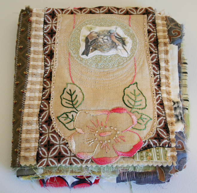 Crazy quilt fabric journal (3)