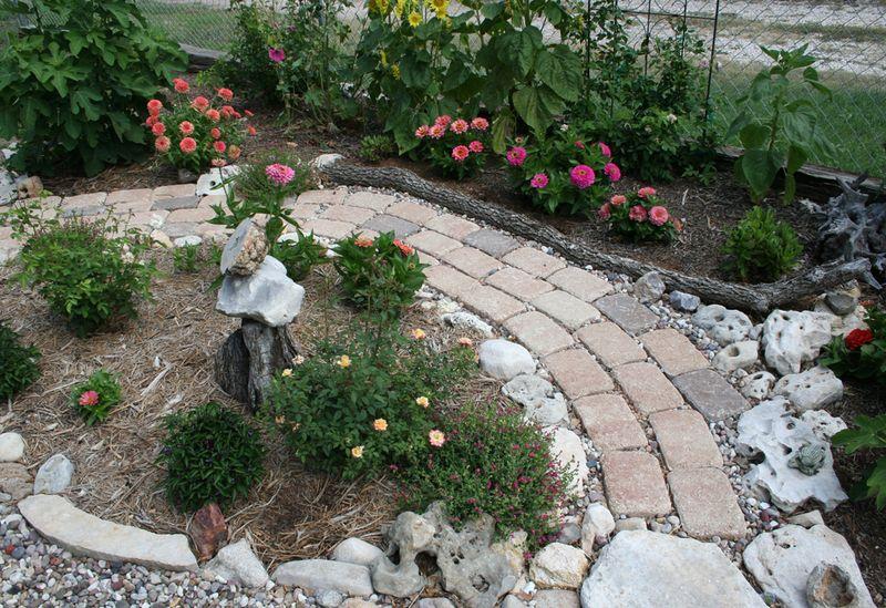 Fig garden path