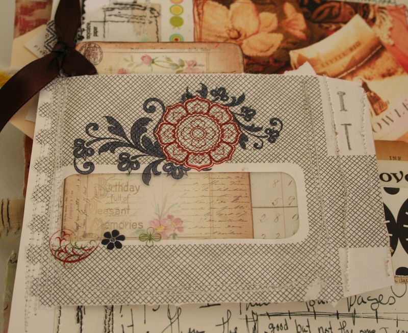 Security envelope in journal