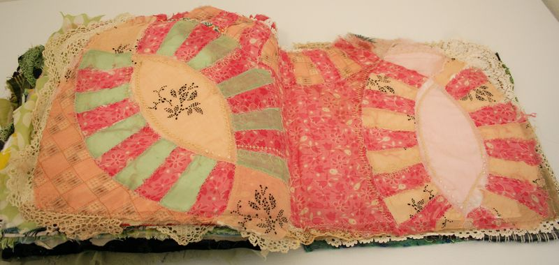 Quilted stitched fabric journal (2)
