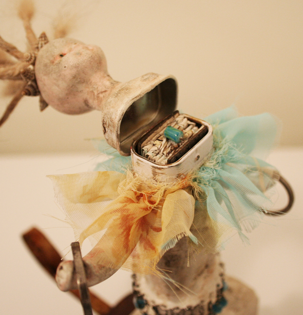 Vivienne Moreau and her High Flying Performing Book Assemblage (2)