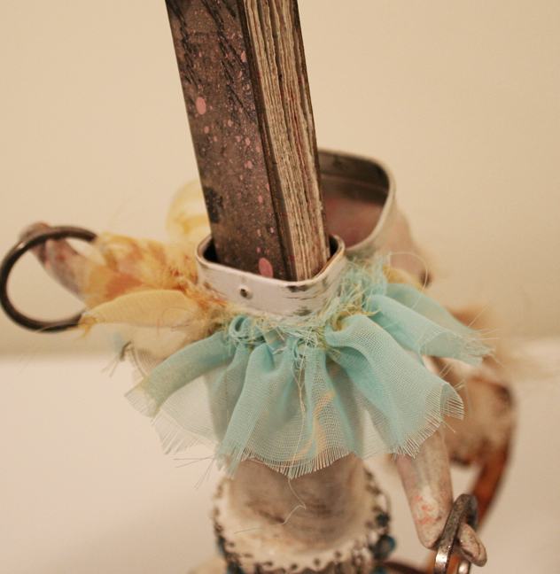 Vivienne Moreau and her High Flying Performing Book Assemblage (7)