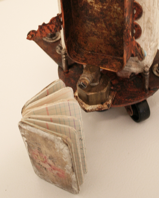 Vivienne Moreau and her High Flying Performing Book Assemblage (8)