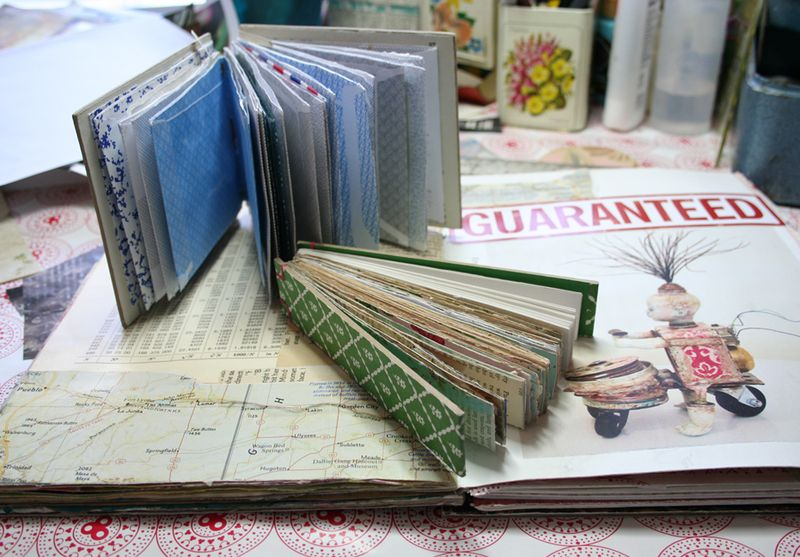 Visual journal pages and journal c