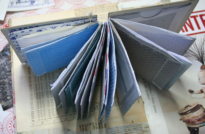 Visual journal pages and journal e