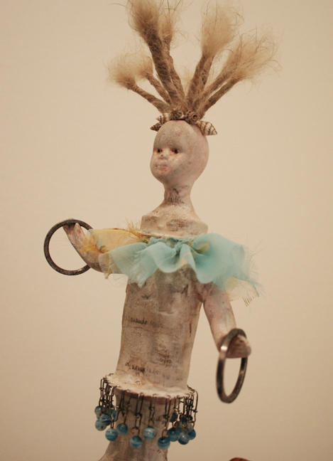 Vivienne Moreau and her High Flying Performing Book Assemblage (5)