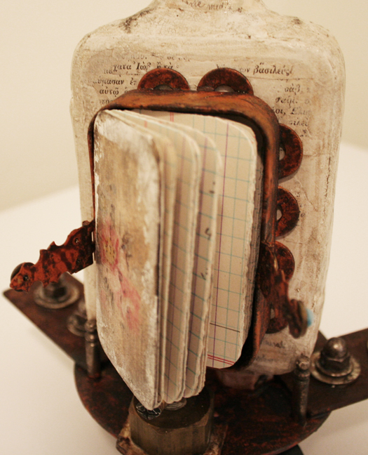 Vivienne Moreau and her High Flying Performing Book Assemblage (4)