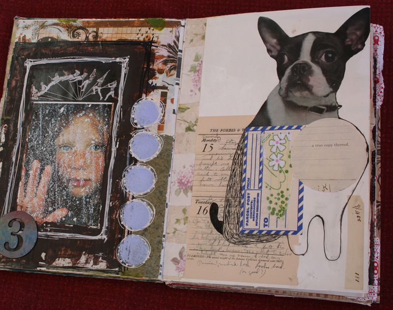 Visual journal pages and journal b