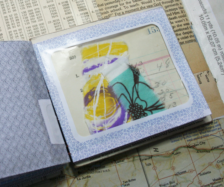 Visual journal pages and journal d