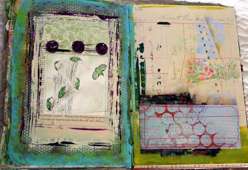 Visual art journal 003