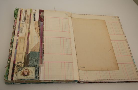 Paper scrap journal pages 004