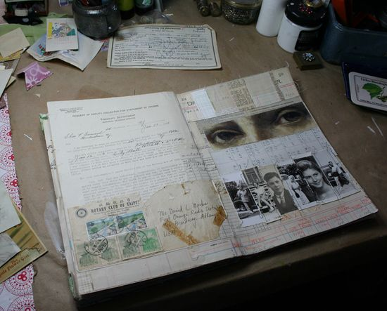Visual journal page 2