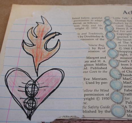 Secrets sketchbook idea journal 007