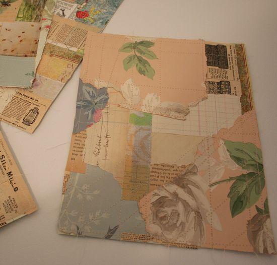 Paper crazy quilt squares 007