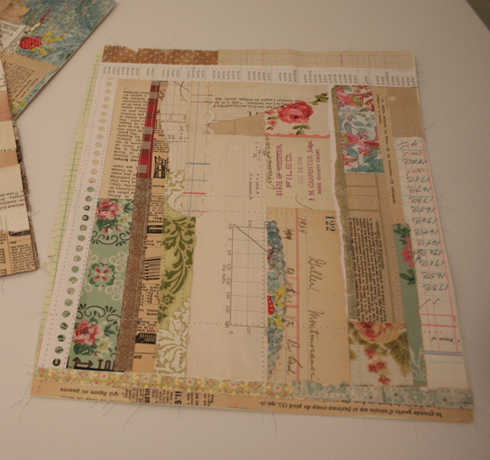 Paper crazy quilt squares 008