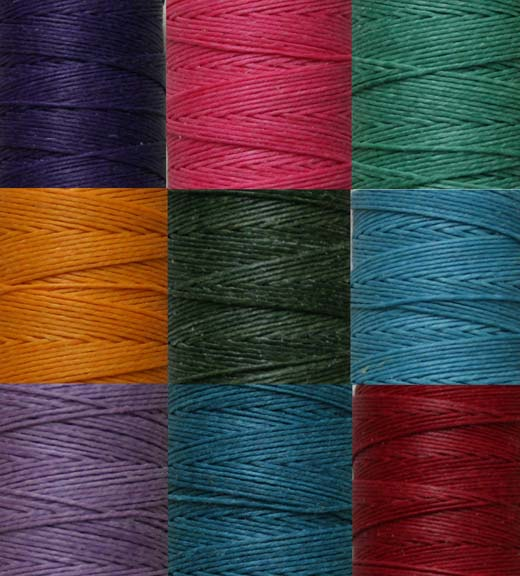 Wax_irish_linen_thread_colors