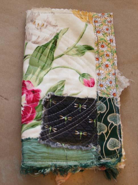 Small scrap quilt journal