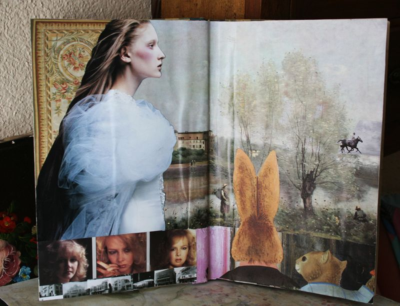Altered book down the rabbit hole (2)