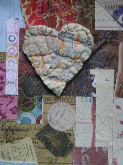 Stitched heart 002