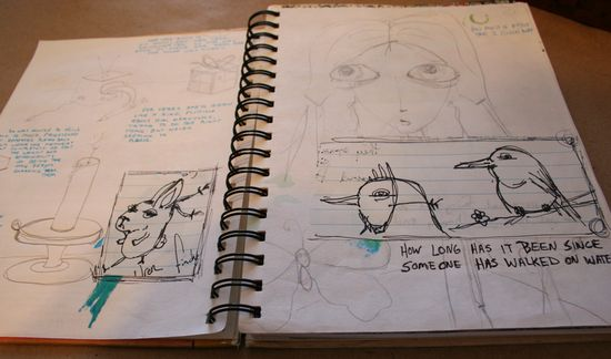 Secrets sketchbook idea journal 005