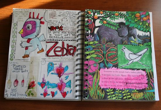 Daily journal pages 001