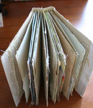 Sewn scrap journal (3)