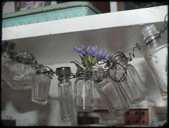 Bottle garland a
