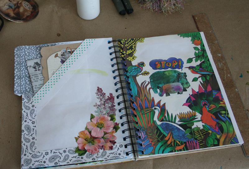 Journal page secret c