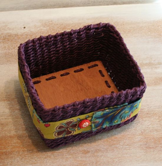 Purple basket a