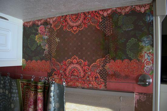 Gypsy wagon wall