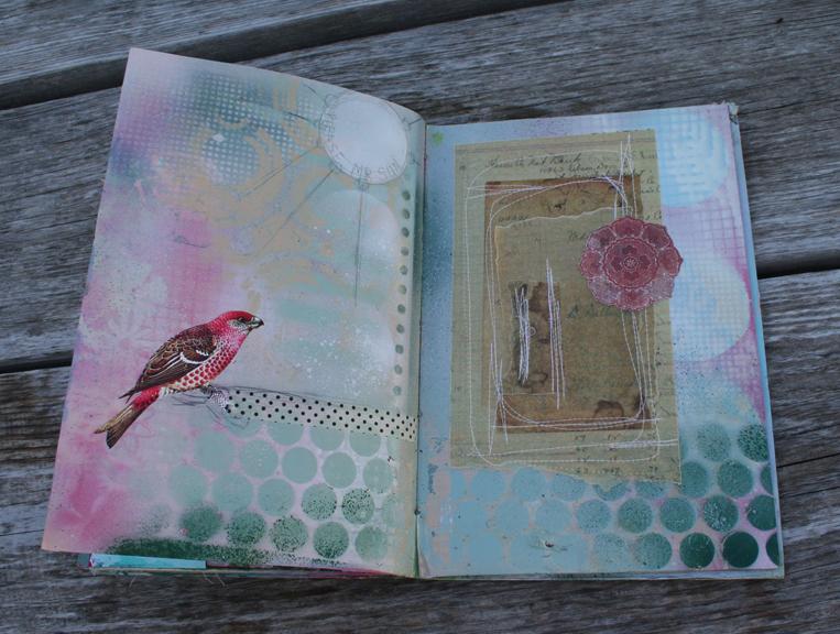 Spray paint journal