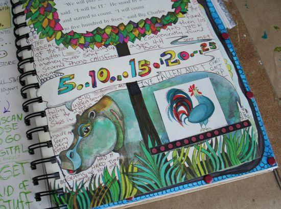 Journal page secret b
