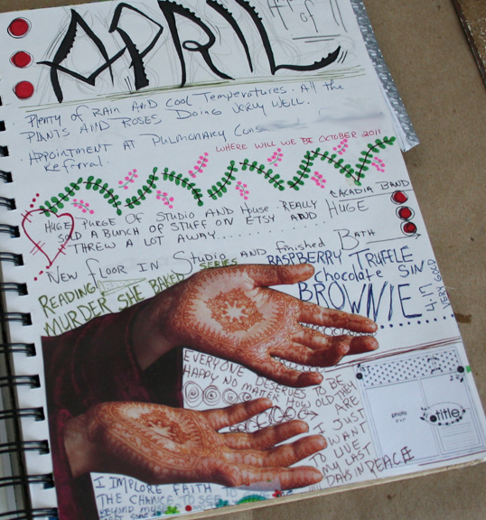 Journal page secret a