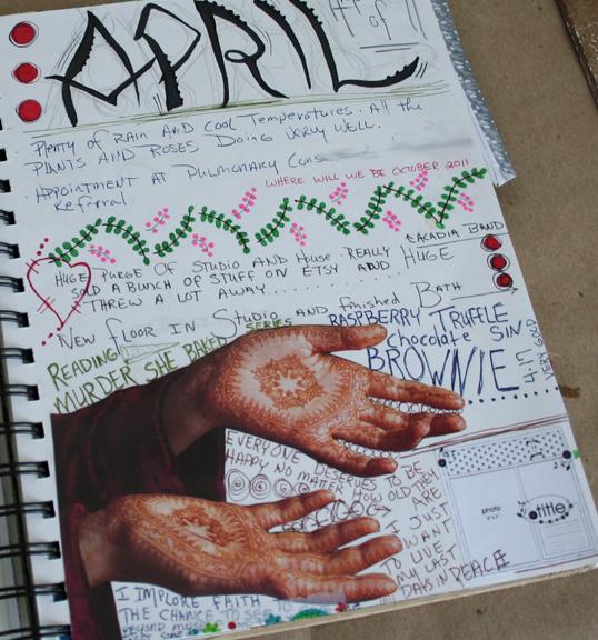 Journal page secret a