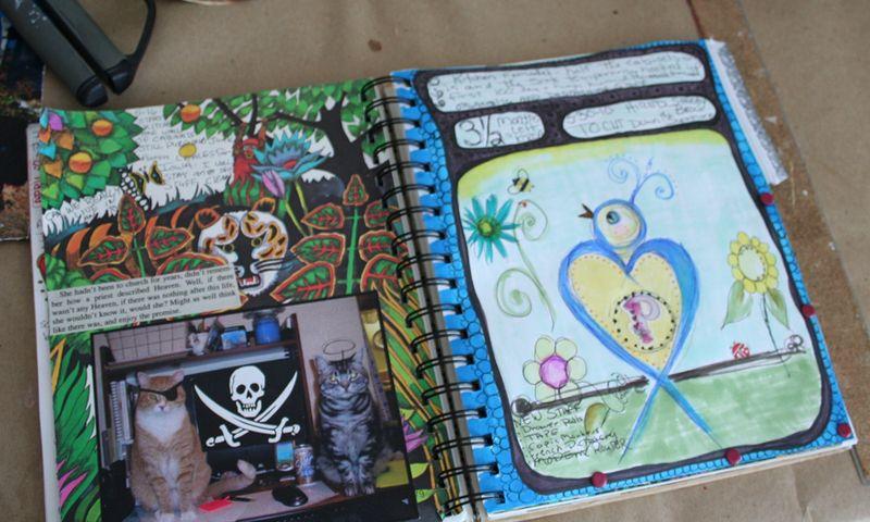 Journal page secret d