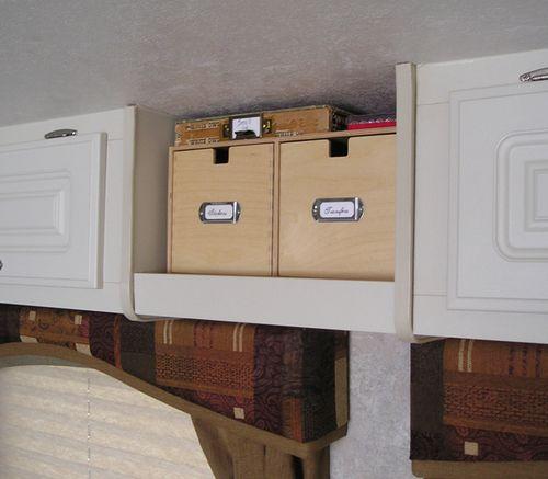 Tiny storage space