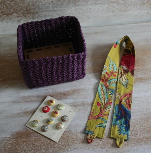Purple basket b