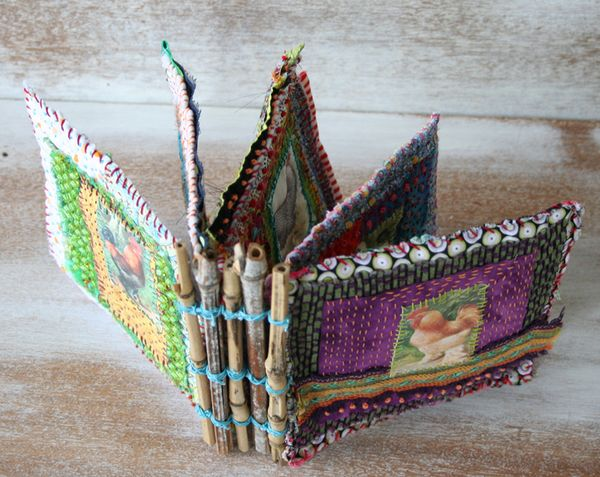 Chicken coop fabric book b