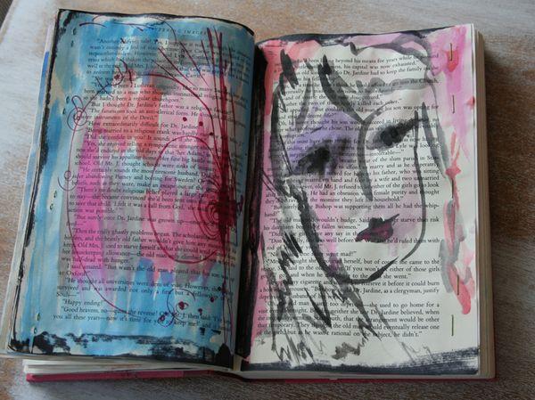 Withdrawal sketchbook portrait